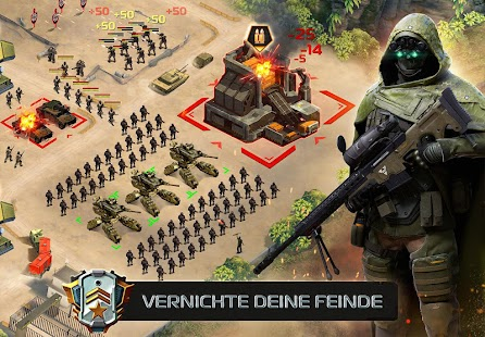 Soldiers Inc: Mobile Warfare Screenshot