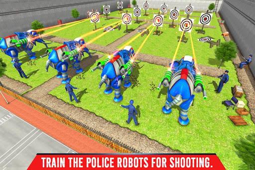 Police Elephant Robot Game: Police Transport Games 1.0.9 Screenshots 5