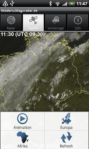 NiederschlagsRadar.de  screenshots 4