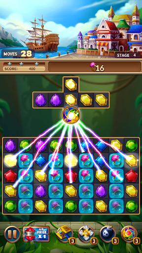 Jewels Fantasy Crush : Match 3 Puzzle apkpoly screenshots 8