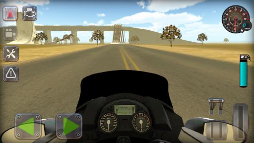 Trafik Polisi Motorsiklet Simülatör Oyunu 1.3 screenshots 2