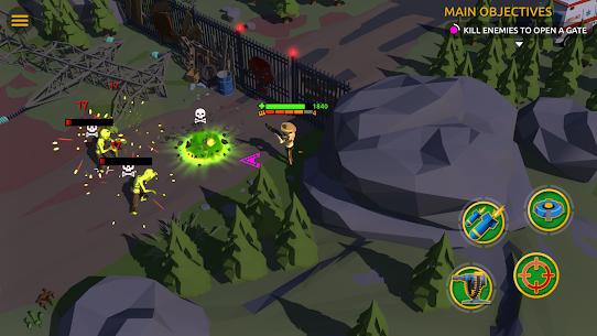 Zombie Blast Crew Mod Apk (UNLIMITED DIAMONDS/GOLD) 5