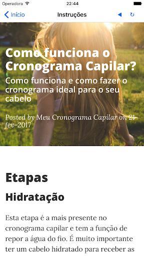 Meu Cronograma Capilar (Clu00e1ssico) 1.0.39 screenshots 5