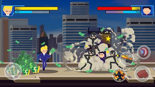 Stick Super: Hero - Strike Fight for heroes legend  screenshots 2