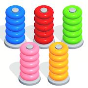 Color Sort Puzzle: Color Hoop Stack Puzzle