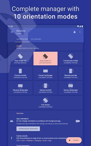 Rotation | Orientation Manager apktram screenshots 9