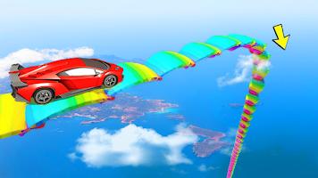 Car Stunts Game Mega Ramp Car : GT Car Games