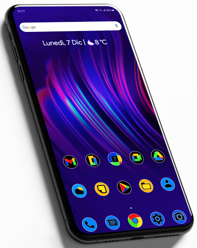 Download APK: Pixly Fluo – Icon Pack v2.1.6 [Patched]