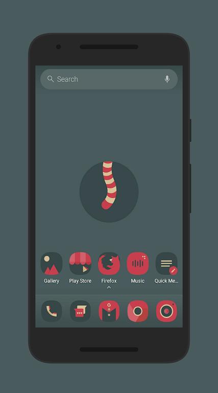 Sagon Icon Pack: Dark UI  poster 0