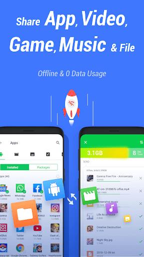InShare - Share Apps & File Transfer Screenshots 1