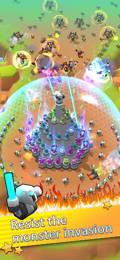 Mega Tower - Casual tower defense apkpoly screenshots 3