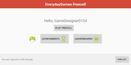 FreeCell with Leaderboards  screenshots 15