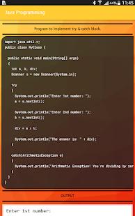 BTech CSE & IT Course Programming