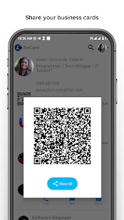 BizCard - An Electronic Business Card.