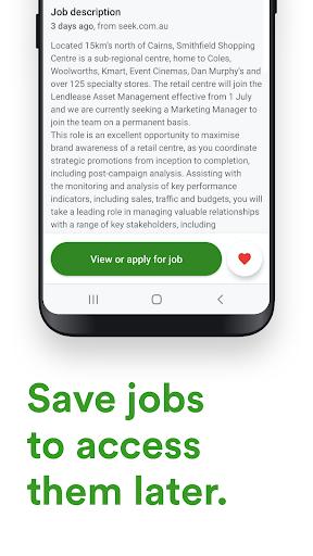 Jora Jobs - Job Search, Vacancies & Employment 2.26.1 (4431) Screenshots 4