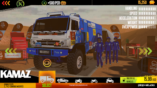 Dark Rally apktram screenshots 5