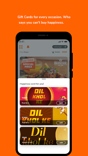 Barbeque Nation - Best Casual Dining Restaurant 3.12 Screenshots 6