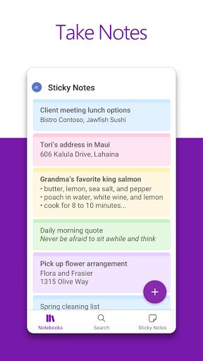 Microsoft OneNote: Save Ideas and Organize Notes  screenshots 2