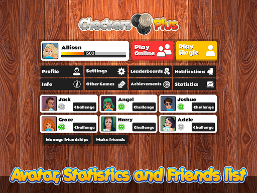 Checkers Plus - Board Social Games apkmr screenshots 15