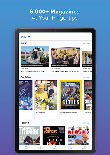 Foto do ZINIO - Magazine Newsstand