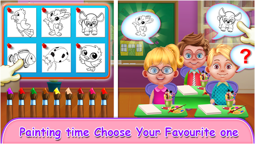 My School Teacher Classroom Fun apkpoly screenshots 2