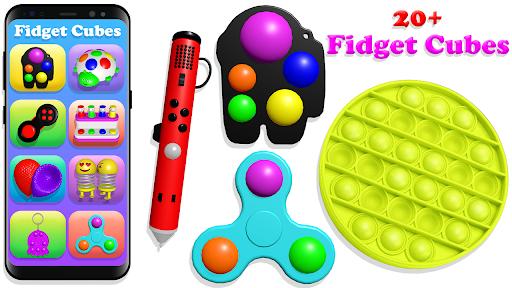 Fidget Toys Pop It Anti stress and Calming Games  screenshots 8
