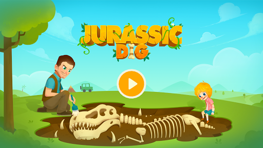 Jurassic Dig - Dinosaur Games for kids apkmr screenshots 1