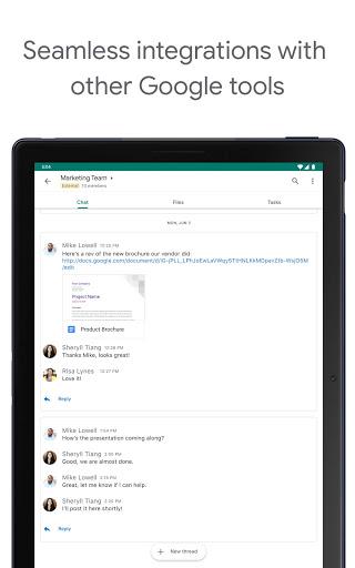 Google Chat apktram screenshots 9