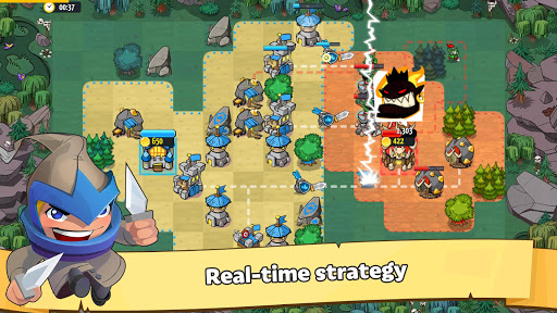 Like a King RTS: 1v1 Strategy modiapk screenshots 1