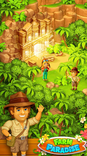 Farm Paradise - Fun farm trade game at lost island apktram screenshots 5