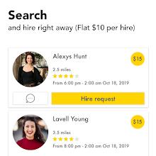 HourlyBee Business  - On demand hiring screenshot thumbnail