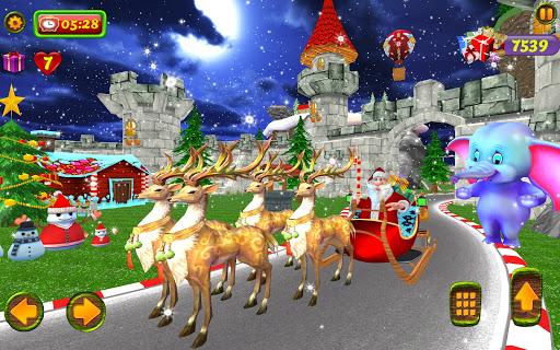 Santa Christmas Infinite Track screenshots 11