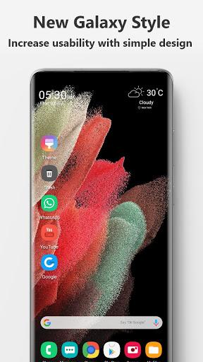 Launcher  Galaxy S21 Style 21.0 Screenshots 1