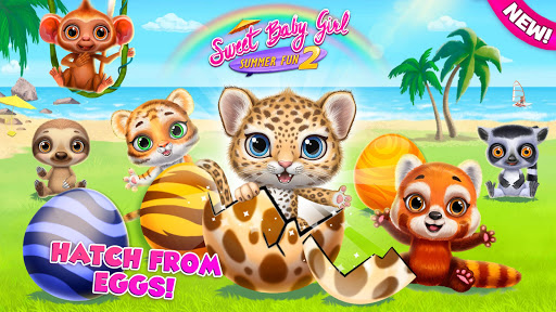 Sweet Baby Girl Summer Fun 2 - Sunny Makeover Game screenshots 1
