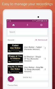 Karaoke: Sing & Record 8.4.1 Screenshots 7