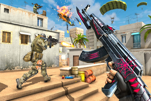 Critical Fps Shooting Games: Gun Shooting Strike apktreat screenshots 1