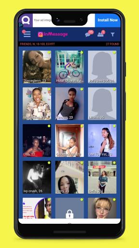 InMessage - Dating, Make Friends and Meet People 1.1 Screenshots 2
