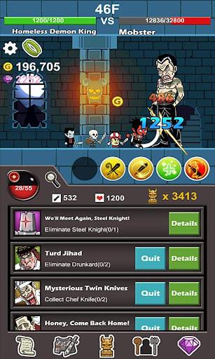 Homeless Demon King(Idle Game) screenshots 7