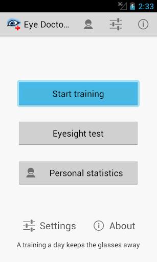 Eye Doctor Trainer - Exercises to Improve eyesight ss1