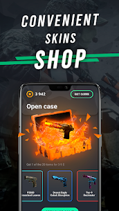 Go Cases: csgo free real skins case opener,clicker 3