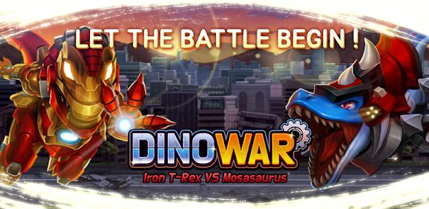 Dino War Iron TRex For Pc (Windows & Mac)   How To Install Using Nox App Player 1