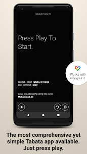Tabata Timer and HIIT Timer MOD APK (Pro / Paid Unlocked) 5