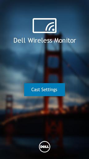 Foto do Dell Wireless Monitor
