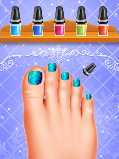 ud83dudc99ud83dudc78Blue Princess - Makeup Salon Games For Girlsud83dudc57 5.0 screenshots 6