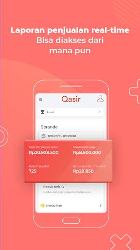 POS Qasir: Aplikasi Kasir Online untuk Semua Usaha  Screenshots 2