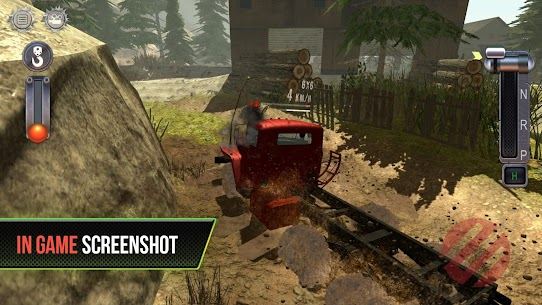 Truck Simulator Offroad 4 MOD (Unlock All Levels) 5
