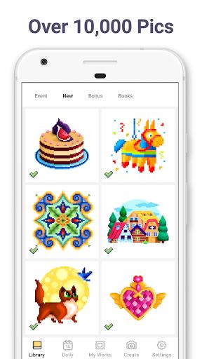 Download Pixel Art: Color by Number mod apk 1