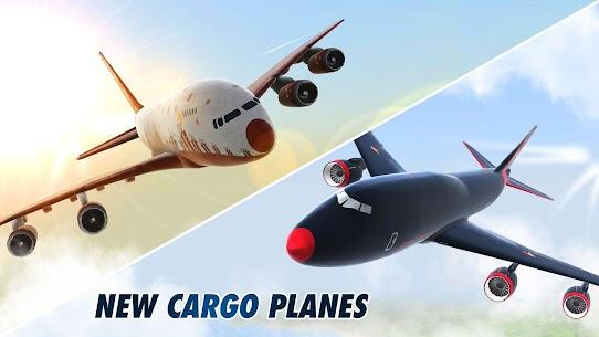 Download Take Off The Flight Simulator (MOD, Money/Fuel/Fast Level Up) 7