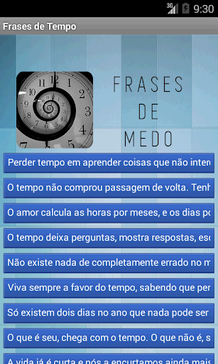 Frases de Tempo For PC Windows (7, 8, 10, 10X) & Mac Computer Image Number- 5