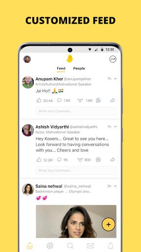 Koo: Connect with People!  screenshots 3